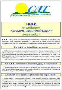 La CAT  UN SIGLE  - 3 LETTRE A