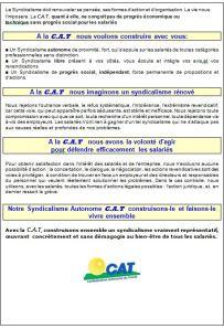 La CAT  UN SIGLE  - 3 LETTRES B